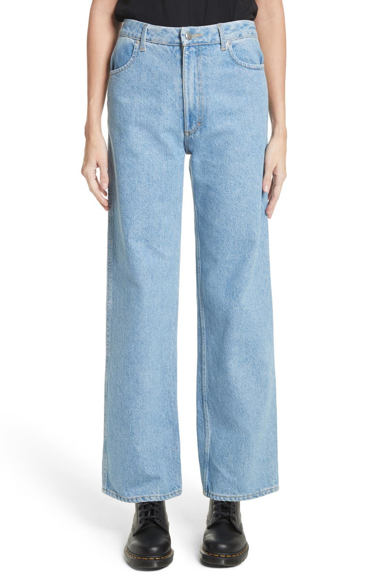 ECKHAUS LATTA EL Wide Leg Jeans, Main, color, 400
