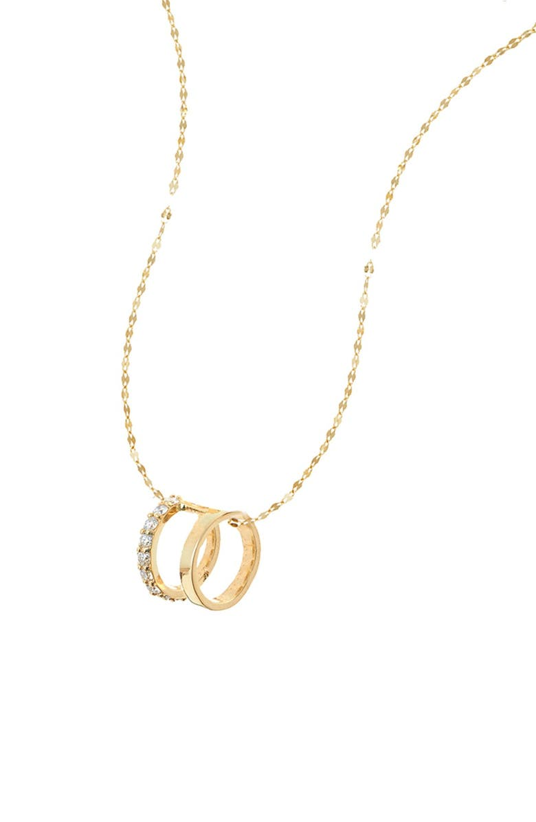 LANA JEWELRY 'Flawless Dare' Pendant Necklace, Main, color, 710