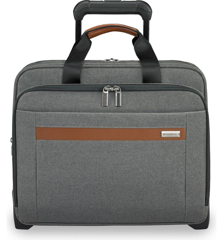 BRIGGS & RILEY Medium Kinzie Street RFID Pocket Expandable Rolling Laptop Briefcase, Main, color, 020
