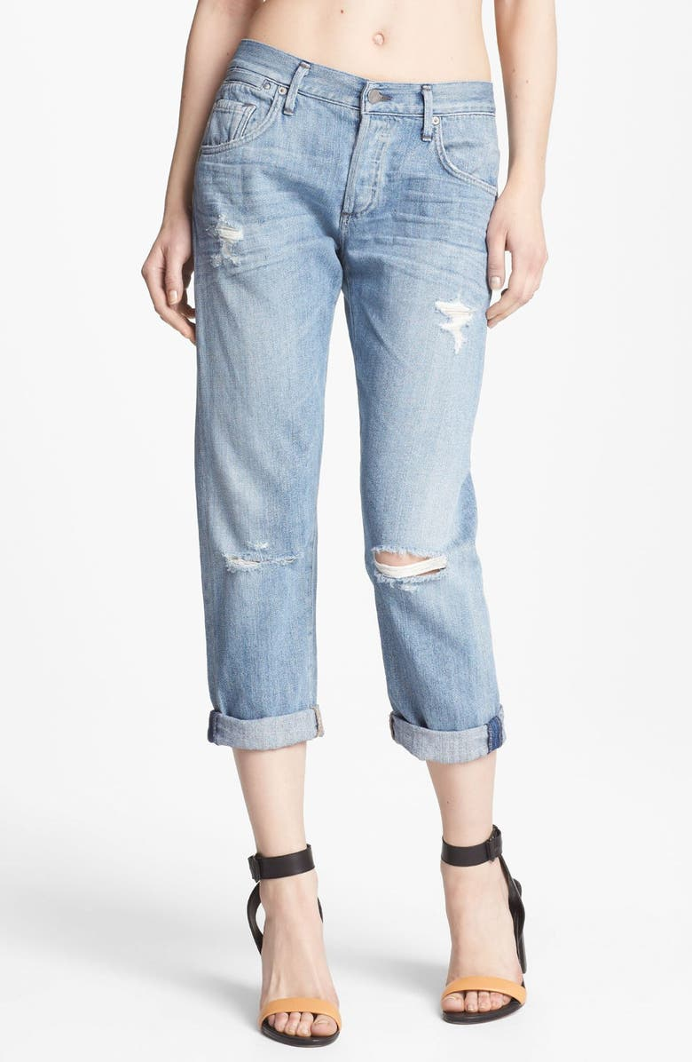 CITIZENS OF HUMANITY 'Dylan' Destroyed Loose Fit Jeans, Main, color, LOVE WORN