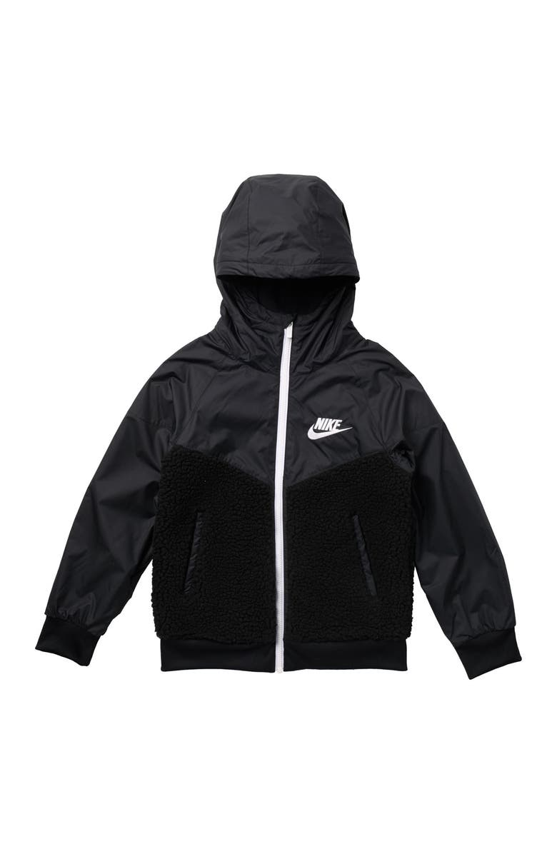 NIKE Windrunner Winterized Jacket, Main, color, 010