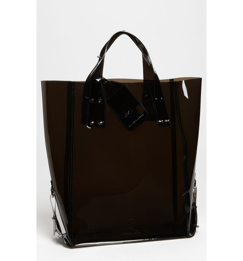 MCQ by Alexander McQueen 'Kingsland' Vinyl Shopper, Main, color, 001