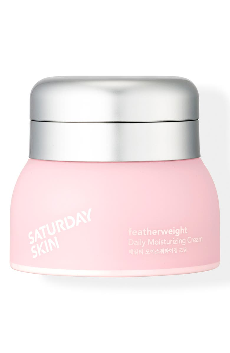 SATURDAY SKIN Featherweight Daily Moisturizing Cream, Main, color, NO COLOR