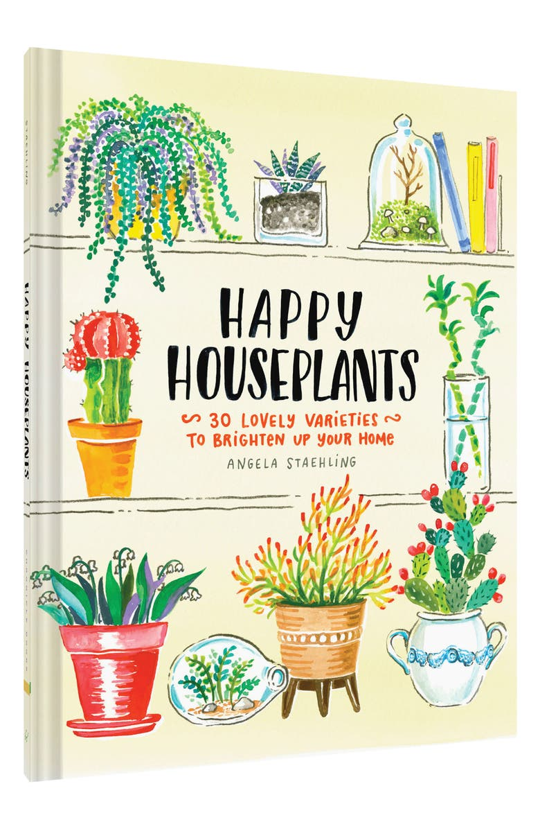 CHRONICLE BOOKS 'Happy Houseplants: 30 Lovely Varieties to Brighten Up Your Home' Book, Main, color, 300