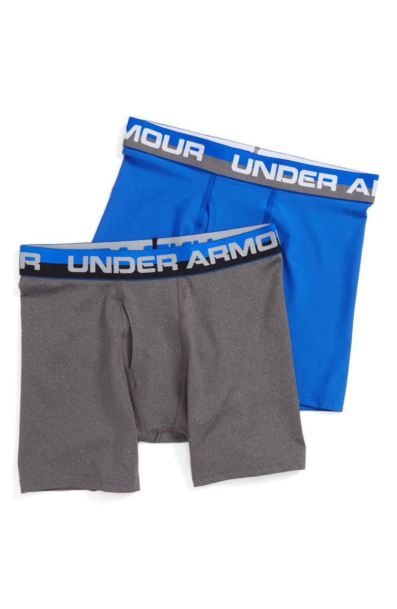 UNDER ARMOUR 2-Pack Boxer Briefs, Main, color, ULTRA BLUE
