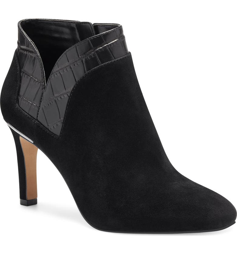 VINCE CAMUTO Larmana Bootie, Main, color, BLACK LEATHER