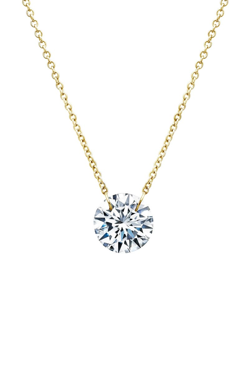 LAFONN In Motion Frameless Pendant Necklace, Main, color, GOLD/ SILVER