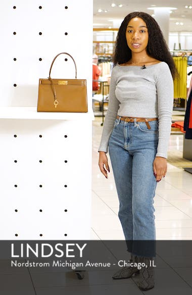 Small Lee Radziwill Leather Bag, sales video thumbnail