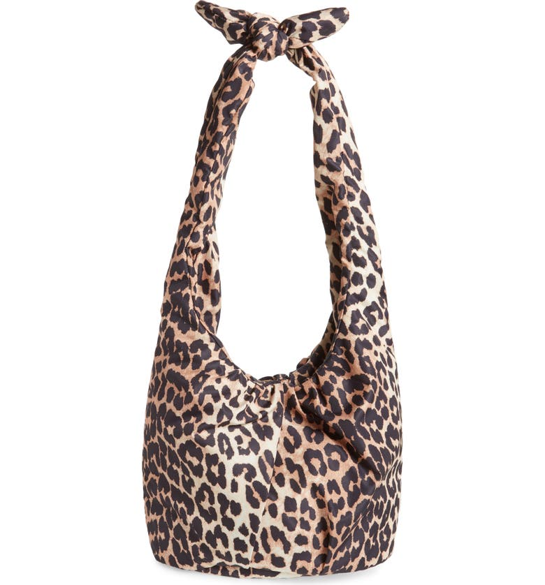 GANNI Print Hobo, Main, color, 200