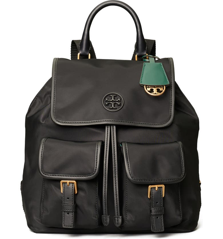 TORY BURCH Perry Nylon Backpack, Main, color, 001