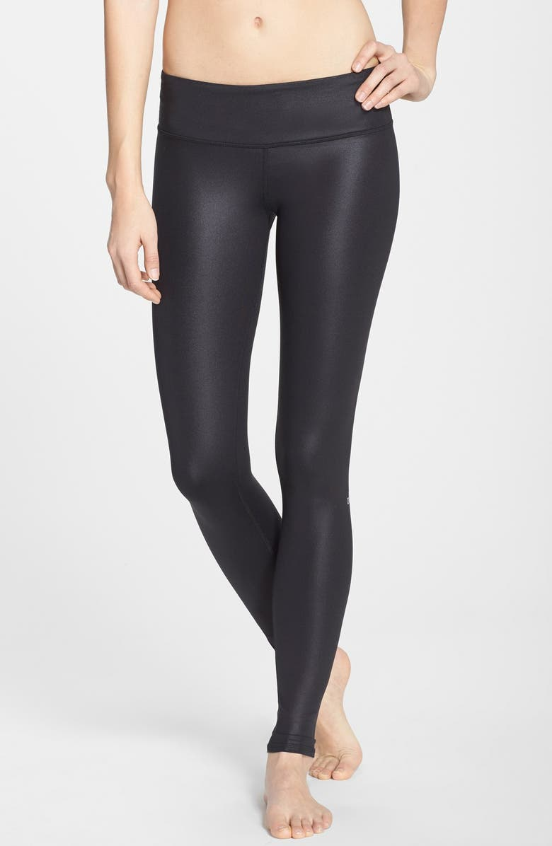 ALO 'Airbrushed' Leggings, Main, color, 001