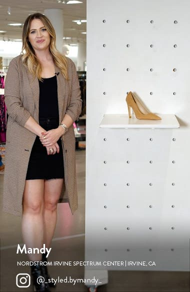 The Icon Pointed Toe Pump, sales video thumbnail