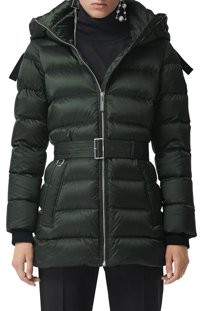 BURBERRY Limehouse Quilted Down Puffer Coat, Main, color, 300