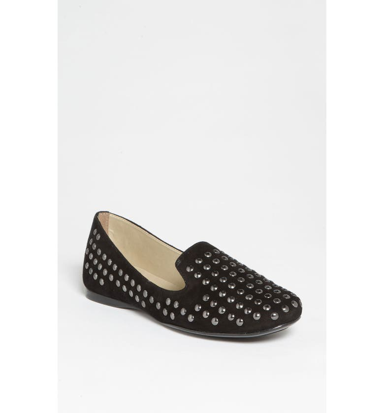 FRENCH SOLE Smoking Flat, Main, color, 001