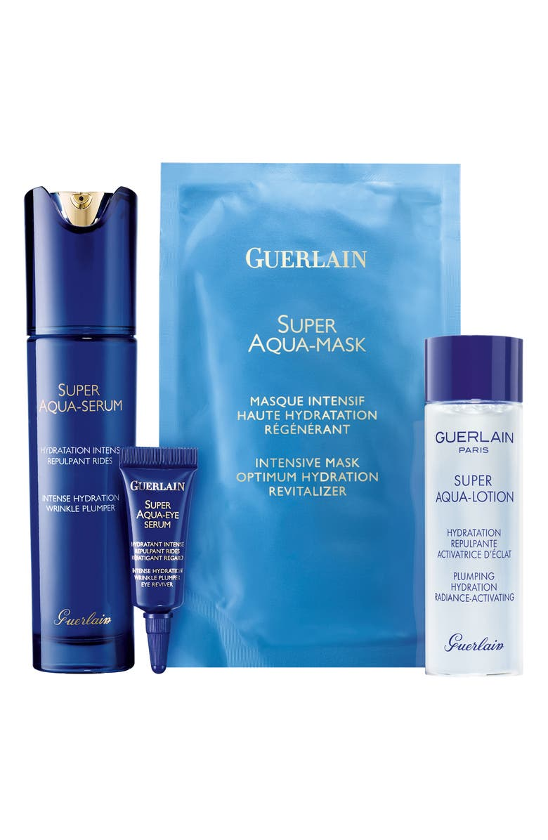 GUERLAIN Super Aqua Hydrating Skin Care Set, Main, color, 000