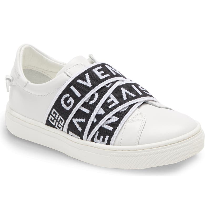 GIVENCHY Logo Band Sneaker, Main, color, 100