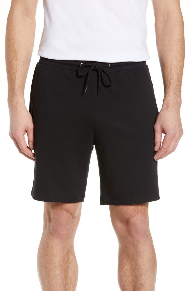NORDSTROM MEN'S SHOP Lounge Shorts, Main, color, 001