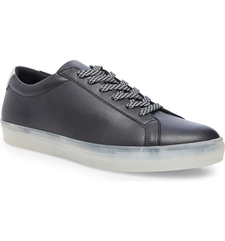 MADDEN Lace-Up Sneaker, Main, color, BLACK