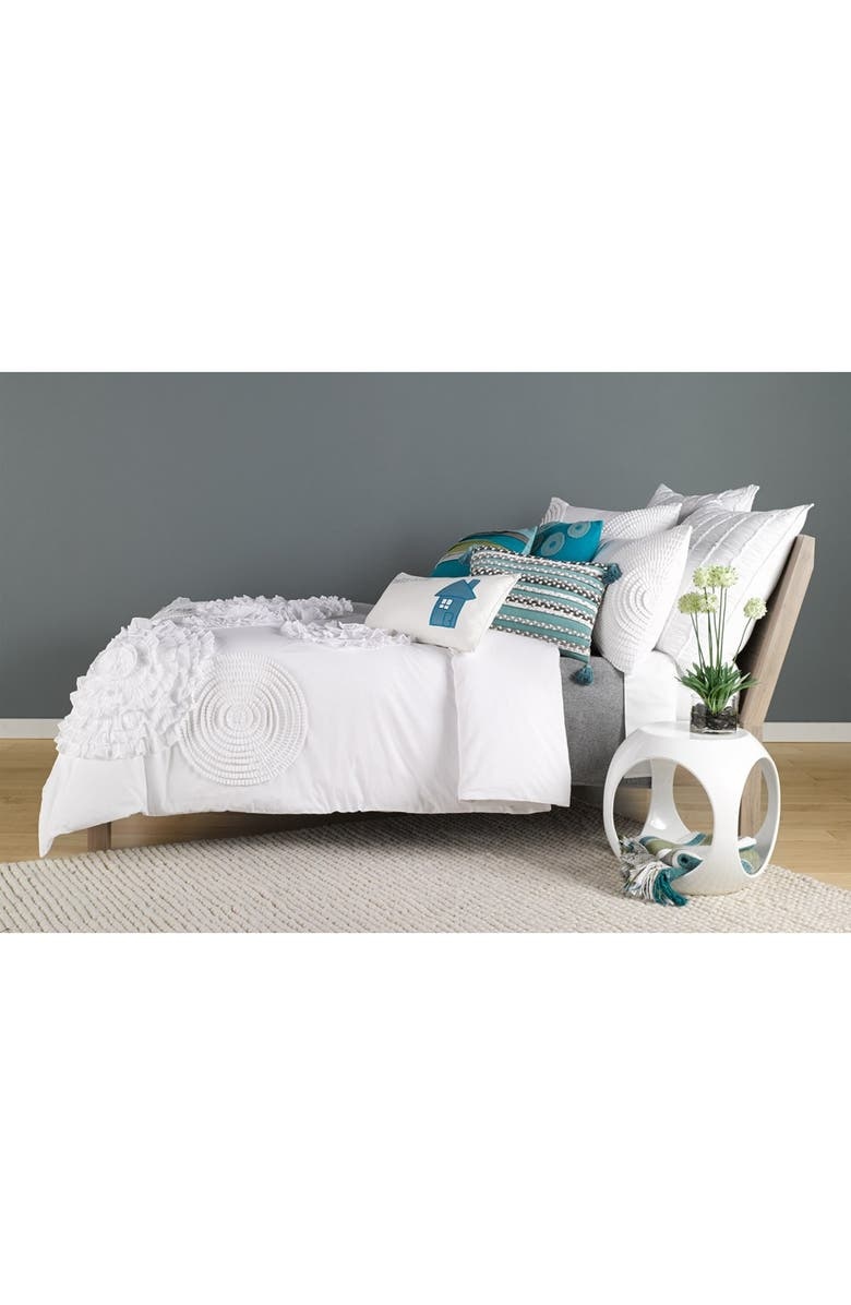 NORDSTROM at Home Patchwork Stripe Pillow, Main, color, 050