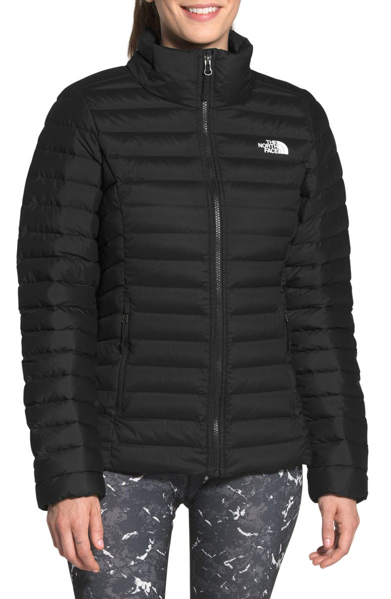 THE NORTH FACE 700 Fill Power Stretch Down Jacket, Main, color, TNF BLACK
