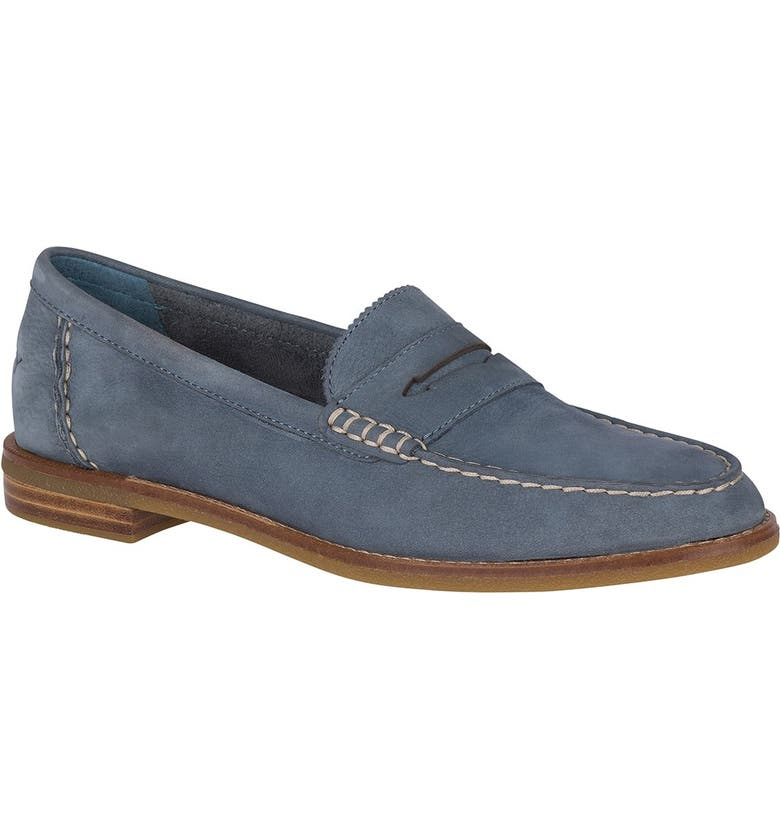 SPERRY TOP-SIDER Seaport Penny Loafer, Main, color, SLATE BLUE