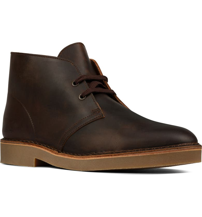 CLARKS<SUP>®</SUP> Desert 2 Chukka Boot, Main, color, BEESWAX LEATHER