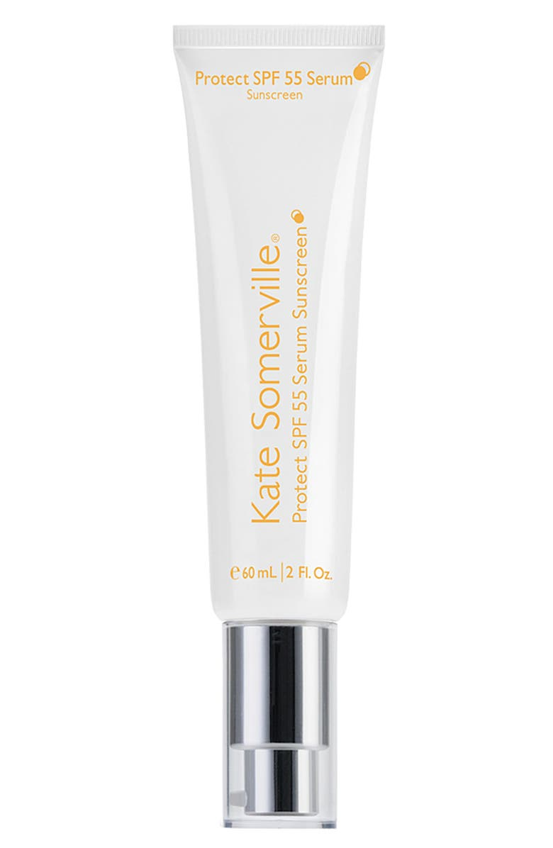KATE SOMERVILLE<SUP>®</SUP> PROTECT SPF 55 SERUM SUNSCREEN, Main, color, 000