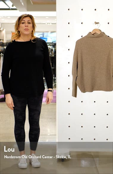 Emma Puff Sleeve Cashmere Sweater, sales video thumbnail