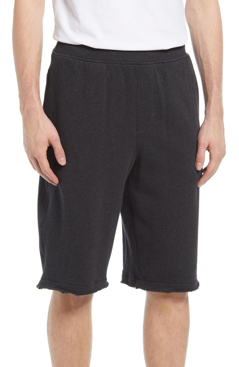 ATM ANTHONY THOMAS MELILLO French Terry Cotton Shorts, Main, color, 022