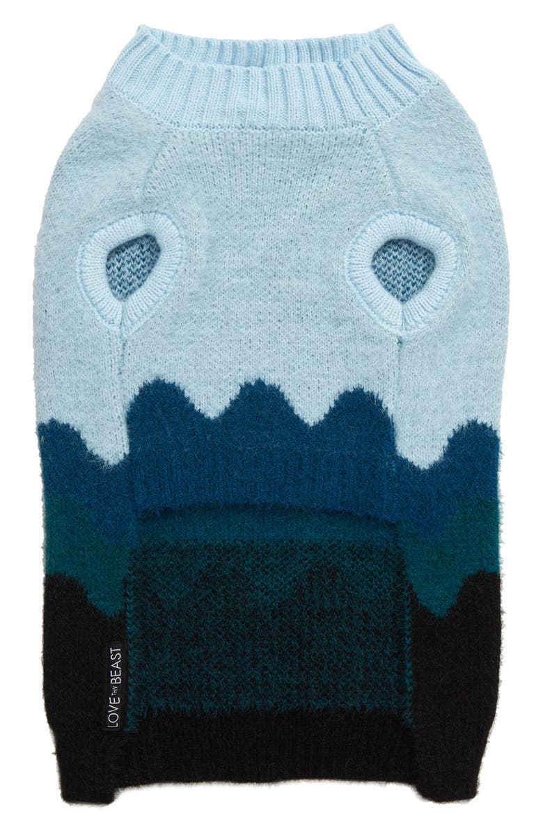 LOVETHYBEAST Wave Dog Sweater, Main, color, 400