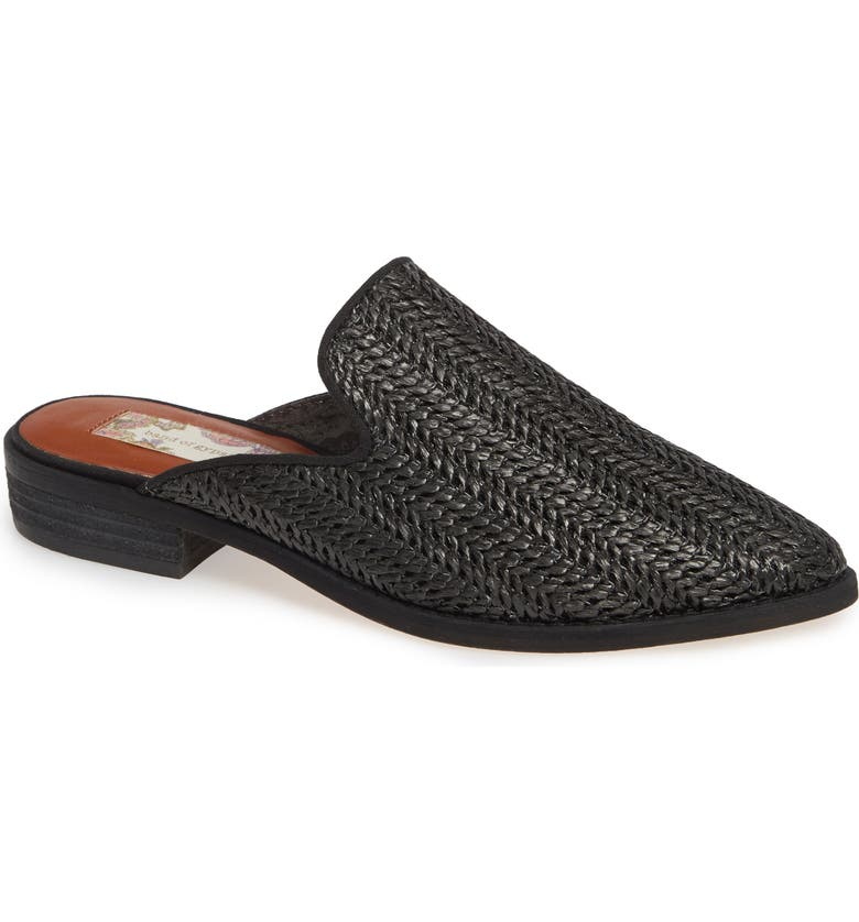 BAND OF GYPSIES Skipper Woven Loafer Mule, Main, color, 001