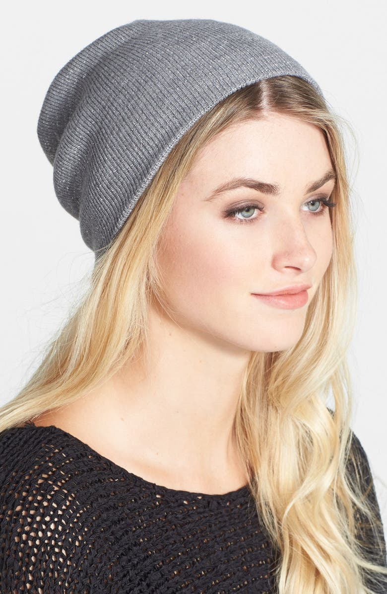 PHASE 3 'Stand Up' Sparkle Beanie, Main, color, 020
