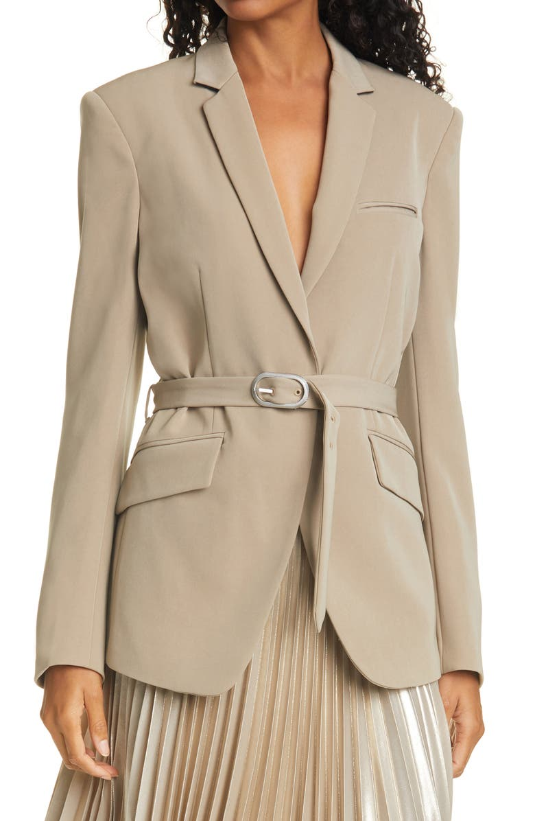 RAG & BONE Andre Belted Blazer, Main, color, CLAY