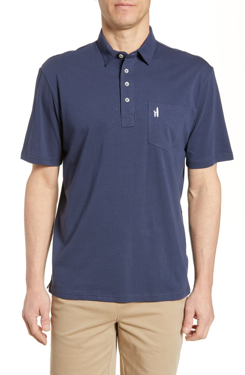 JOHNNIE-O The Original Regular Fit Polo, Main, color, WAKE