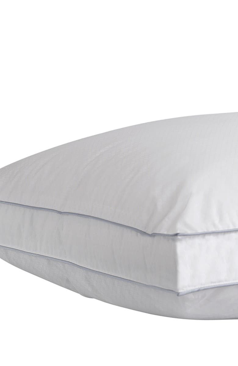 CLIMAREST Cooling Gusseted Pillow, Main, color, WHITE