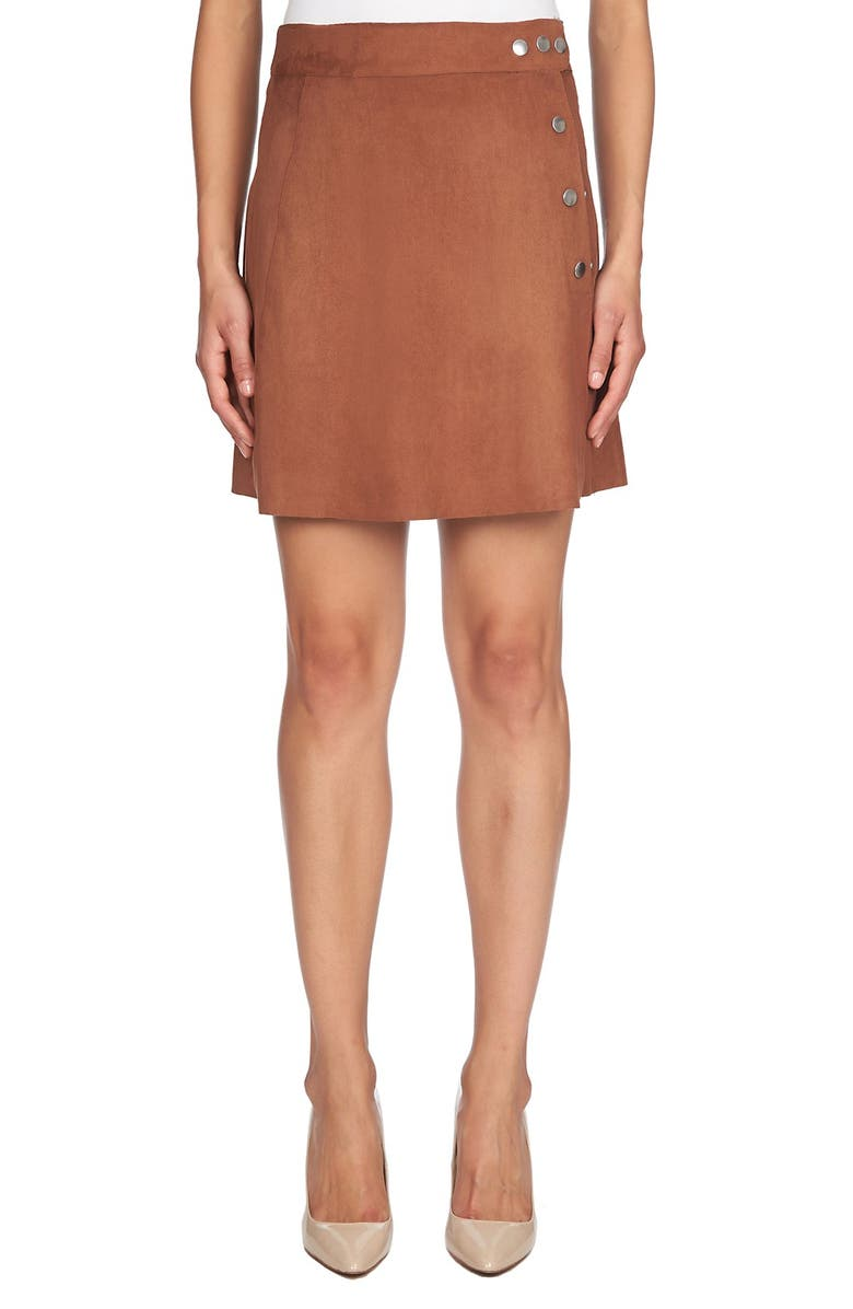 1.STATE Faux Leather Skirt, Main, color, 200