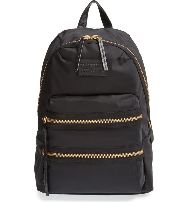 MARC JACOBS MARC BY MARC JACOBS 'Domo Arigato' Backpack, Main, color, Black