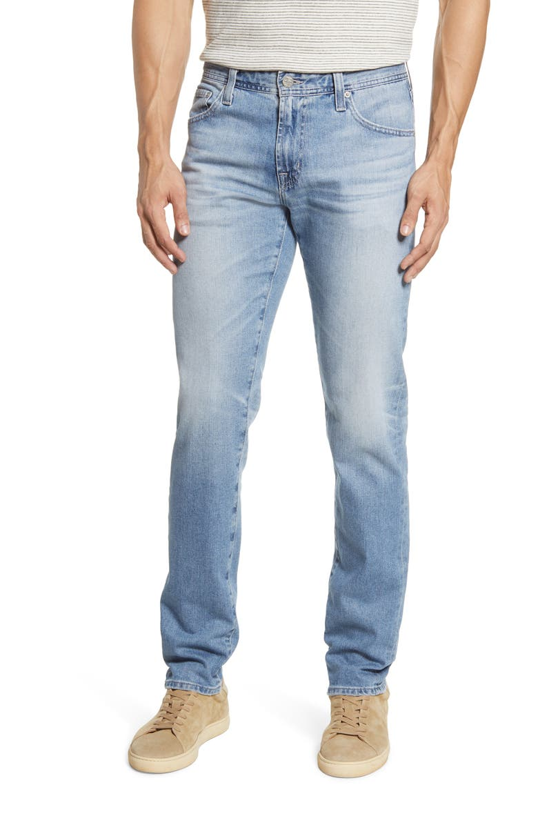AG Graduate Slim Straight Leg Jeans, Main, color, INTERCEPT
