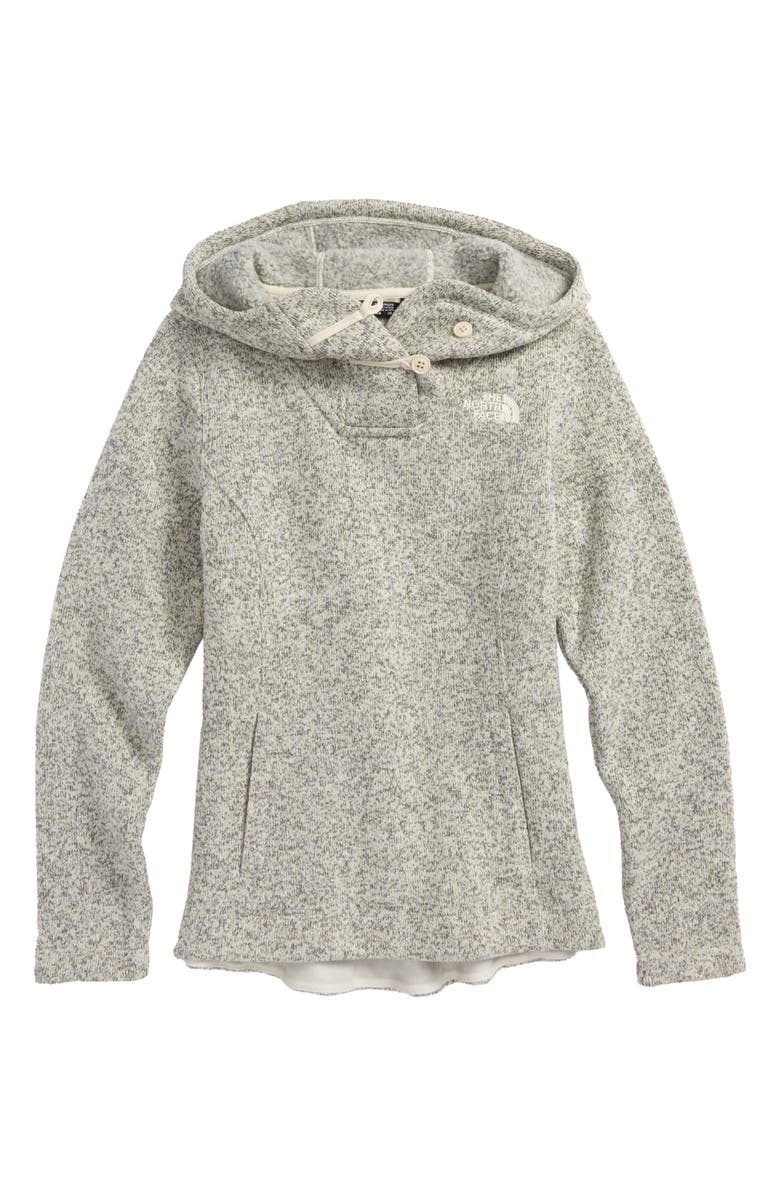 THE NORTH FACE Crescent Sunset Hoodie, Main, color, 100