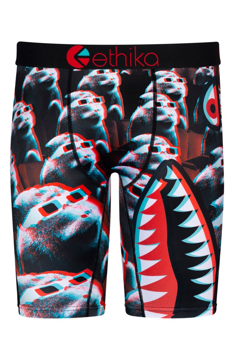 ETHIKA Kids' Bomber Business Boxer Briefs, Main, color, ASSORTED