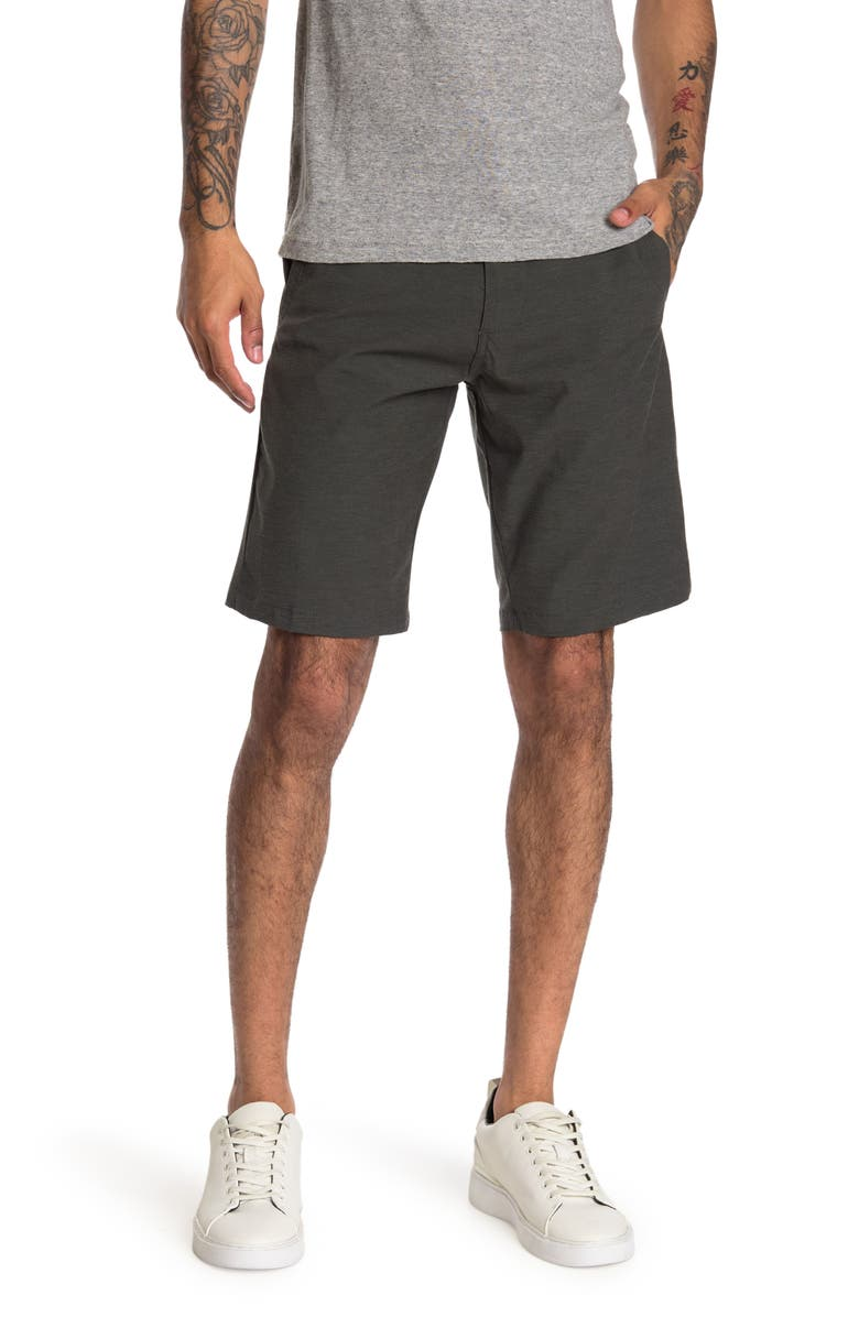BURNSIDE Cargo Stretch Shorts, Main, color, CHARCOAL