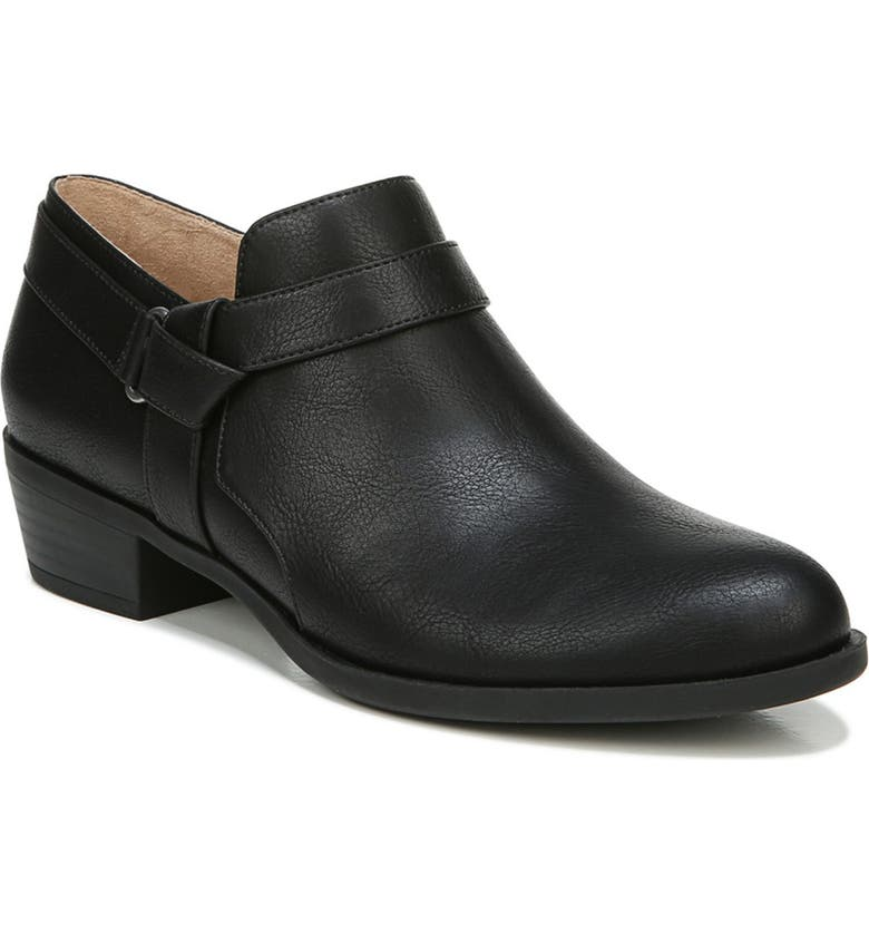 LIFESTRIDE Arden Ankle Boot - Wide Width Available, Main, color, BLACK
