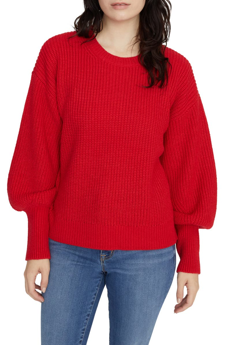 SANCTUARY Turn Up the Volume Sweater, Main, color, 623