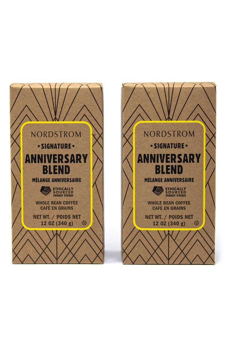 NORDSTROM Anniversary Blend 2-Pack Whole Bean Coffee, Main, color, 250
