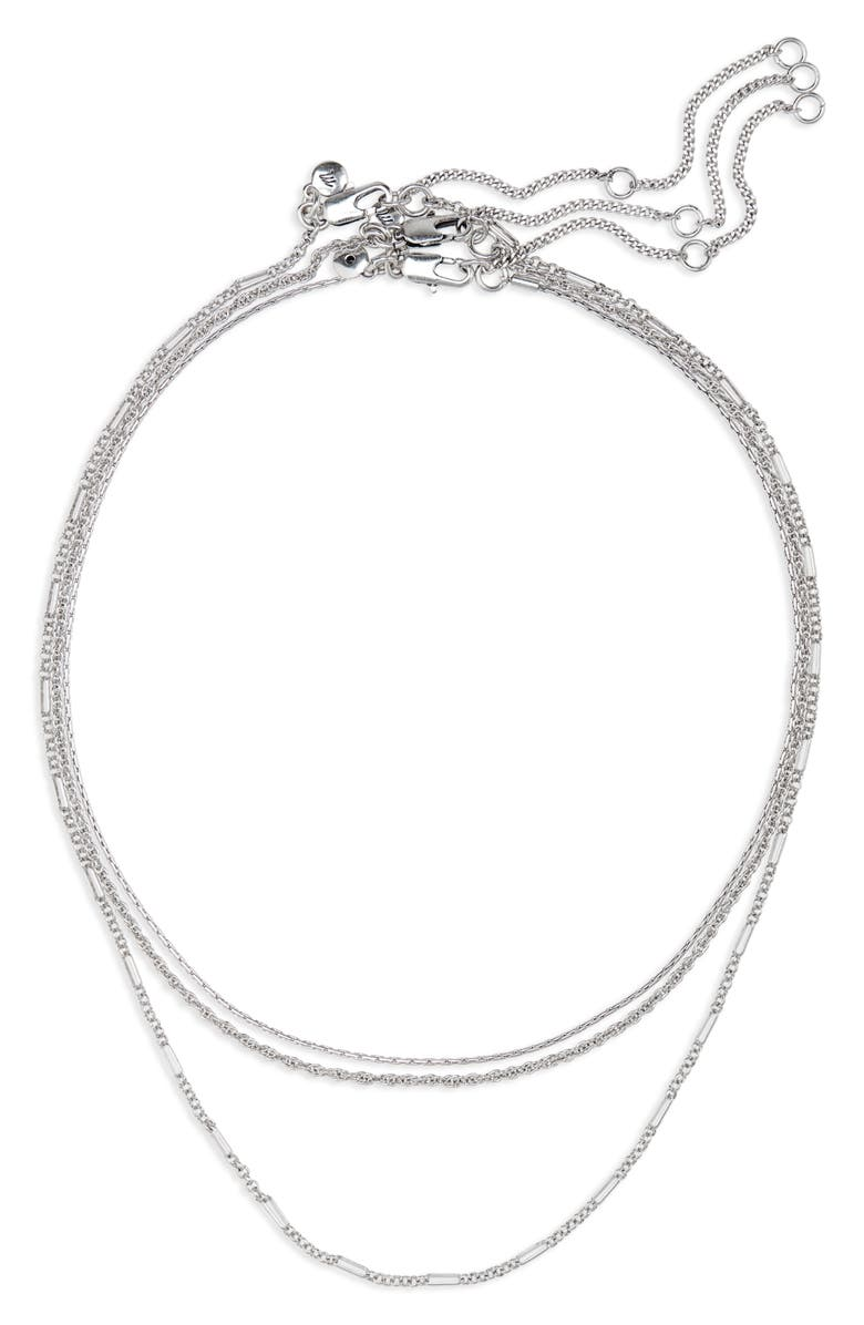 MADEWELL Heritage Chain Necklace Set, Main, color, 040