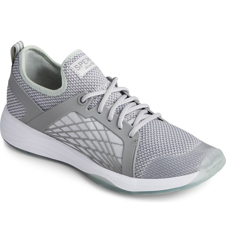 SPERRY TOP-SIDER Mooring Lace-Up Sneaker, Main, color, GREY