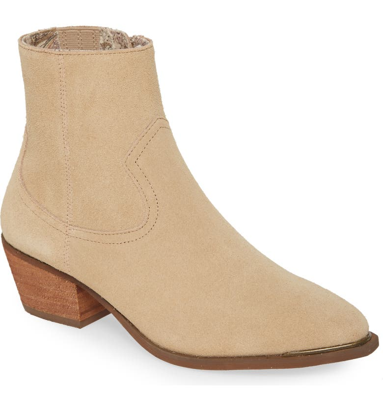 BAND OF GYPSIES Creed Bootie, Main, color, NATURAL SUEDE