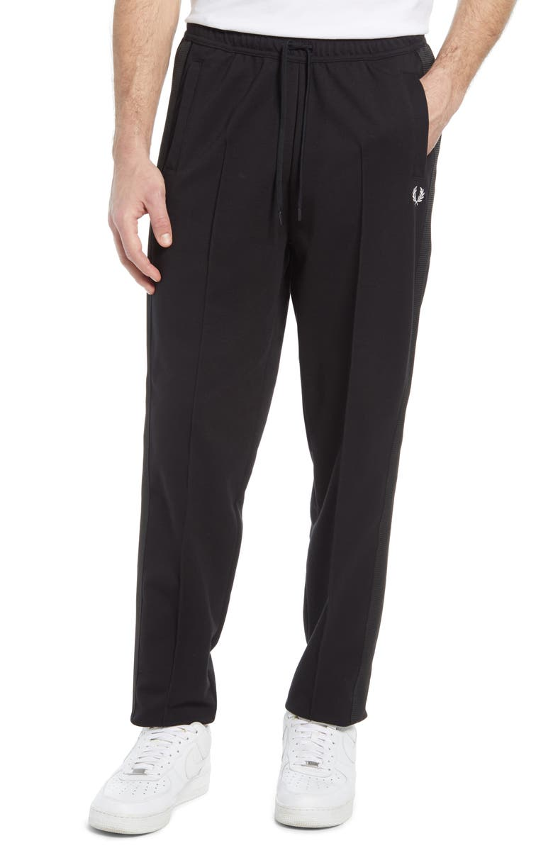 FRED PERRY Track Pants, Main, color, Black
