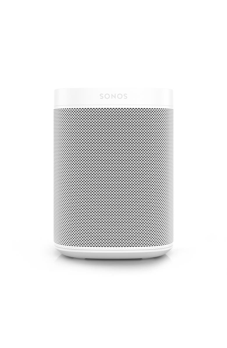 SONOS One Voice Controlled Smart Speaker, Main, color, 100