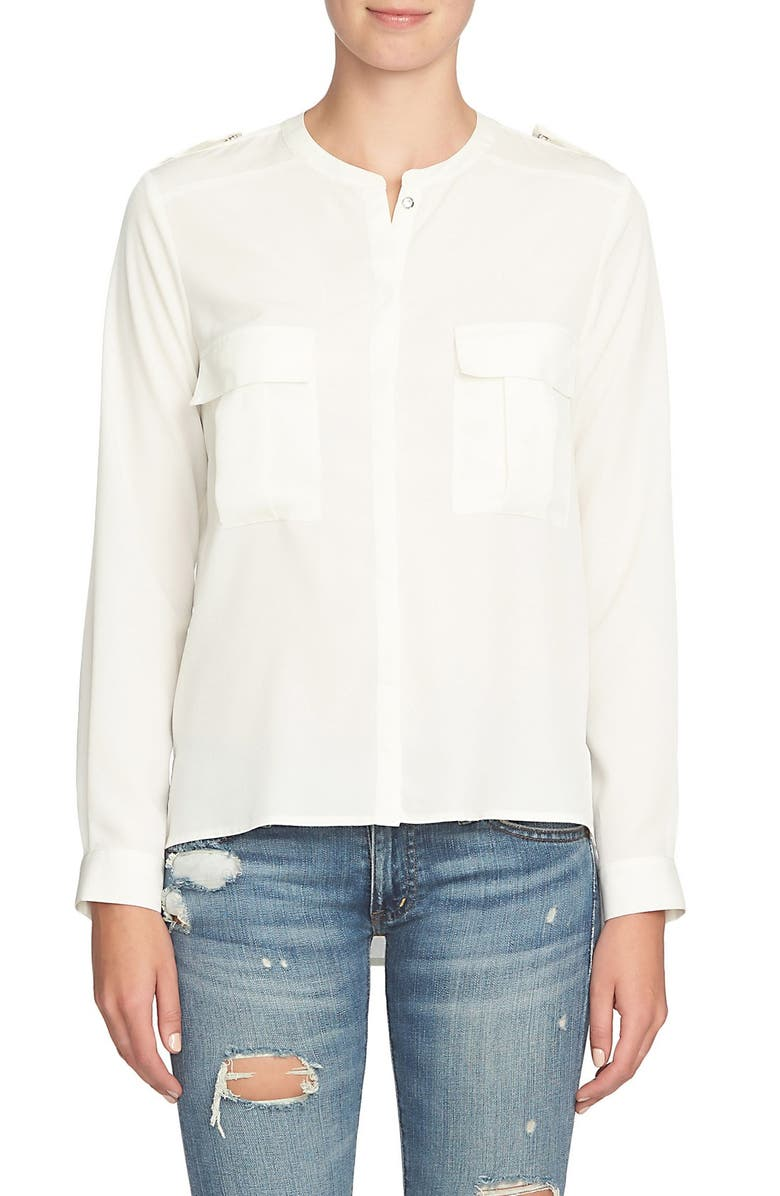 1.STATE Patch Pocket Blouse, Main, color, 906